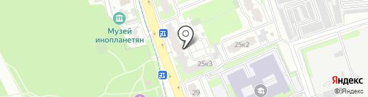 Европейский на карте Домодедово