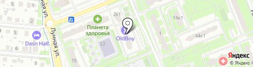 ДИАМАНТ на карте Домодедово