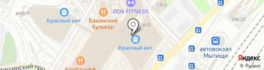 Nike на карте Мытищ