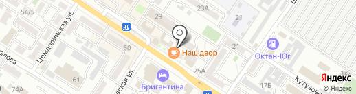 Домофонная служба на карте Новороссийска