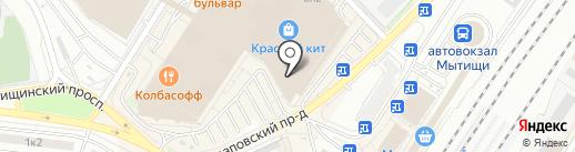 Professional на карте Мытищ