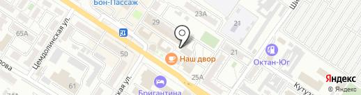 Мебельный салон на карте Новороссийска
