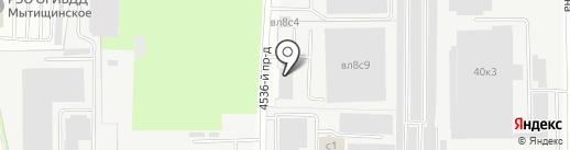 Евразия-Авто на карте Мытищ