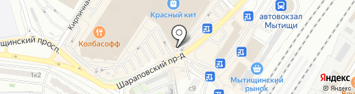 Organic shop на карте Мытищ