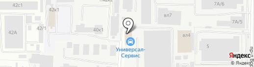 Универсалсервис на карте Мытищ