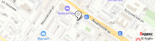 Flor2U на карте Новороссийска