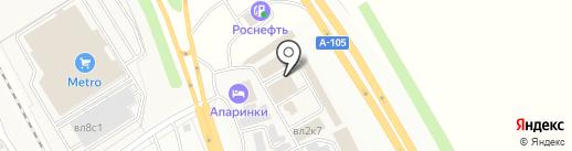 Магазин котельного оборудования на карте Апаринок