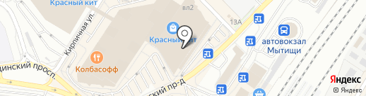 Чайбург на карте Мытищ