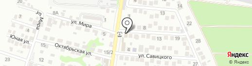 RED LINE HOTEL на карте Новороссийска