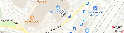Цветочный магазин на карте Мытищ
