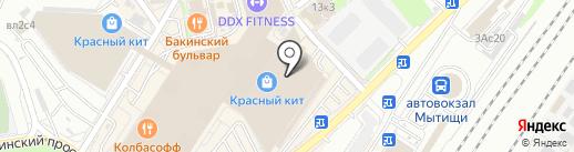 София на карте Мытищ