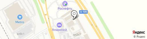 СПС-Холод на карте Апаринок