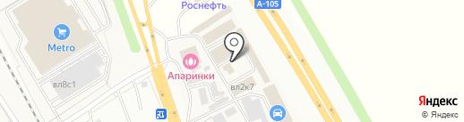 Магазин лакокрасочных материалов на карте Апаринок