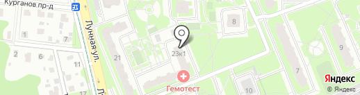 Мамонтенок на карте Домодедово