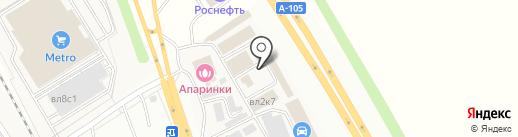 DeLuxAuto на карте Апаринок