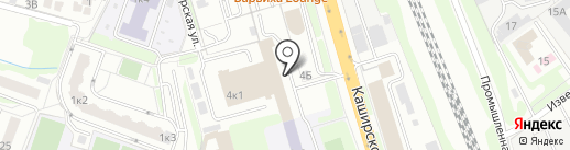 Эльбрус-Авто на карте Домодедово