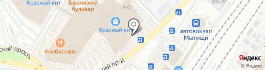 РосДеньги на карте Мытищ