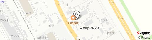 VAV-Auto на карте Апаринок