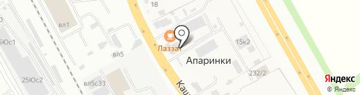 Qiwi на карте Апаринок