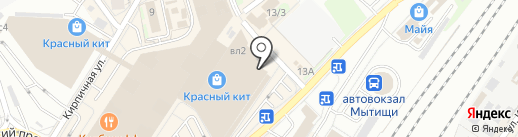 ЗаОдно на карте Мытищ