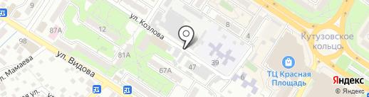Краснодарская краевая коллегия адвокатов на карте Новороссийска