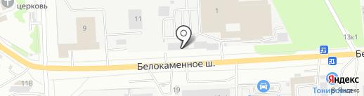 Форвард Трейд на карте Видного