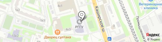 Домодедовский центр образования, МАУ на карте Домодедово