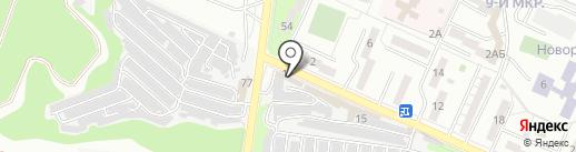 Поливторг на карте Новороссийска
