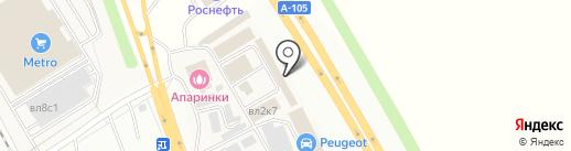 Магазин строительных материалов на карте Апаринок