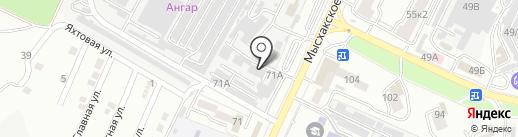 ДРЕВПЛИТ на карте Новороссийска