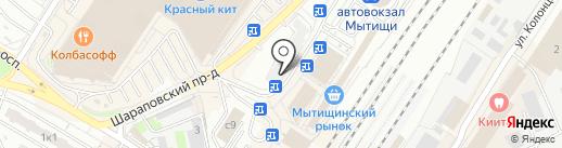 Связной на карте Мытищ
