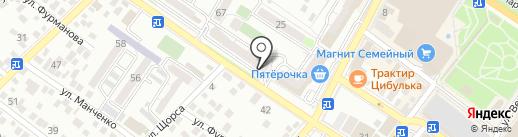 Платежный терминал, Русфинанс банк на карте Новороссийска