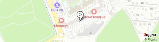 Любимое Домодедово на карте Домодедово