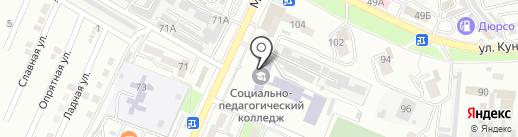 Лимон на карте Новороссийска