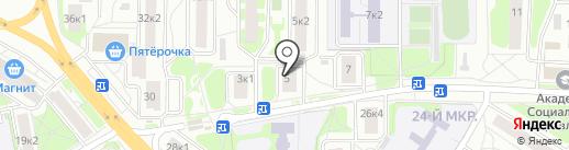 Ковчег на карте Мытищ