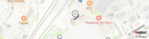 Московская Пивоваренная Компания, ЗАО на карте Мытищ