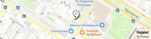 Дом на карте Новороссийска
