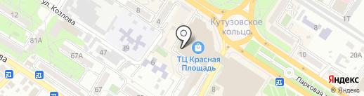 New Yorker на карте Новороссийска