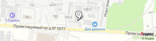 Sto на карте Видного