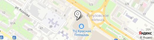 O`stin kids на карте Новороссийска