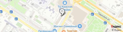 Империя роз на карте Новороссийска