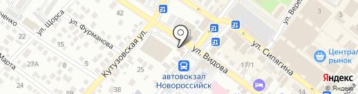 Рольшторы на карте Новороссийска