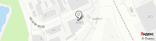 Дельта Втормет на карте Мытищ