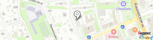 Лиза XXI век на карте Домодедово