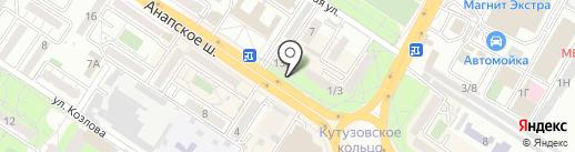 Nail Шарм на карте Новороссийска