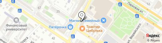 Visa-Region на карте Новороссийска