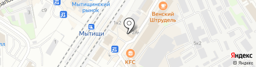 Магазин разливного пива на карте Мытищ