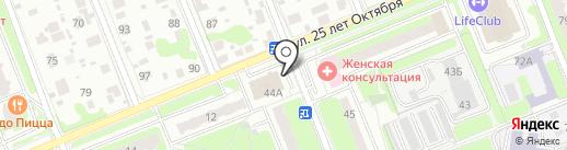 Виталенд на карте Домодедово