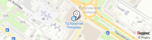 TELE2 на карте Новороссийска
