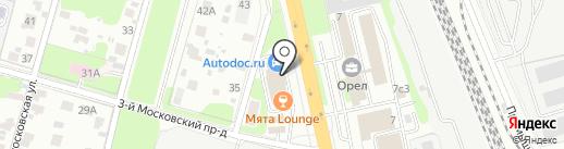 Магазин разливного пива у Мо на карте Домодедово
